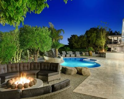 Dream Oasis Pool 6bed 5bath, pool, spa, game room, cinema, putting green - Cathedral City Cove