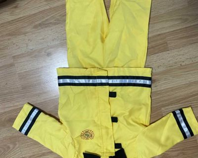 12-24 months firefighter costume