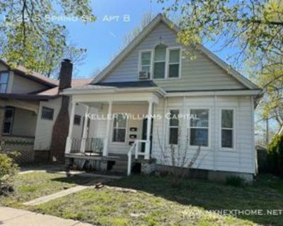 1125 S Spring St #B, Springfield, IL 62704 1 Bedroom Apartment