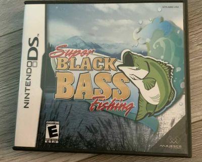 Nintendo DS - Super Black Bass Fishing - GAME / JEUX Plusieurs autres jeux disponibles, demandez!