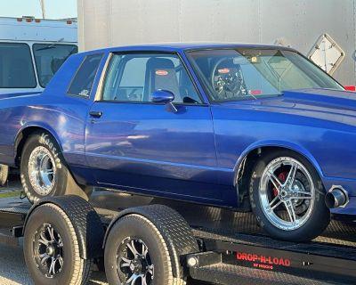 1985 CUSTOM MONTE CARLO DRAG CAR