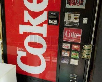 Used 2010 Seaga  SP540 Snack and a Vendo Soda Vending Machine