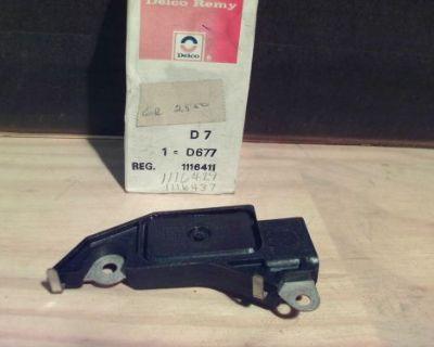 1116411 General Motors Gm Oe Nos Acdelco D685 Voltage Regulator