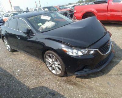Salvage Black 2016 Mazda Mazda6