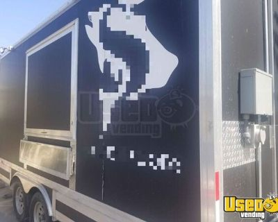 2020 8' x 16' Lightly Used Street Food Concession Trailer / Mobile Kitchen