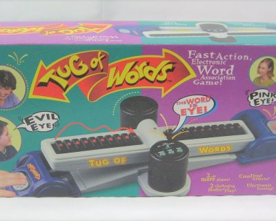 Tug Of Words Game By Tiger Electronics Model 07-022 Year 1998
