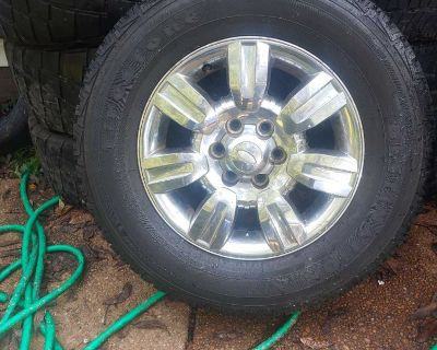 F 150 18 inch SPARE WHEEL and TIRE