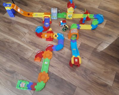 vtech train and track