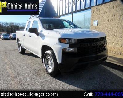 "Used 2019 Chevrolet Silverado 1500 2WD Double Cab 147"" Work Truck"