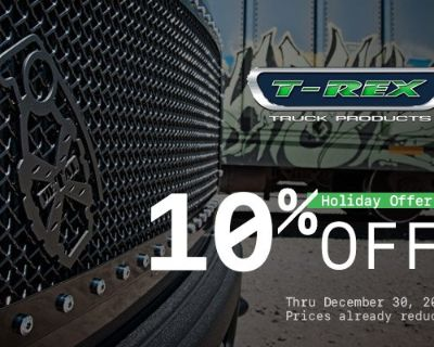 Make your front-end pop with T-Rex Custom Grille + New Sale at CARiD