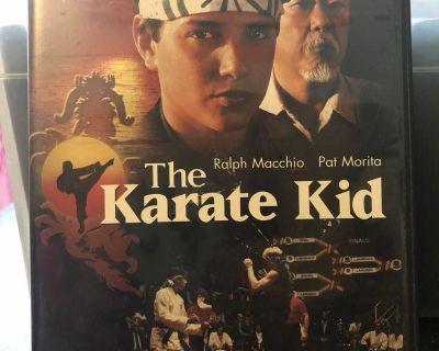 The Karate Kid. 3 movies.