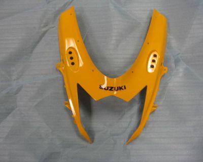 2012 12 Gsxr 750 Gsxr750 Gsxr750 New Oem Suzuki Upper Nose Fairing Yellow