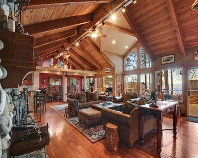 Lakefront House with Hot Tub, Gas BBQ, Game Room   Endless Fun! - Incline Village