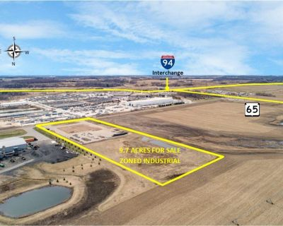 9.7 Acres for Sale: I-94 & Hwy 65 (Roberts Exit) - Some Site Improvements Done