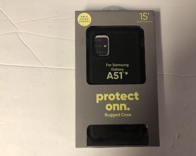 Phone Case Protect Onn Rugged Case for Samsung Galaxy A51