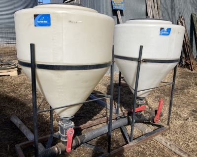 Double 30 Gallon Inductor Tanks