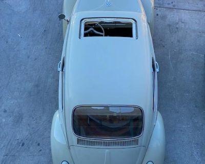 1965 Panama Beige Sunroof Beetle
