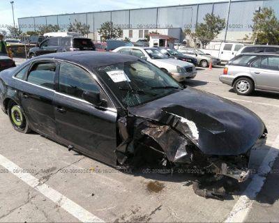 Salvage Black 2010 Audi A4
