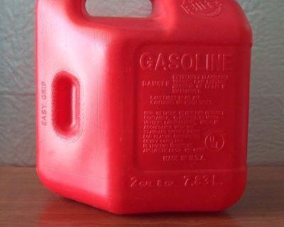 NEW! 2-GALLON GASOLINE CONTAINER