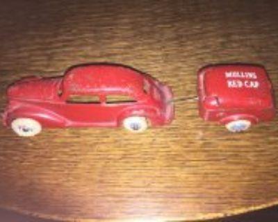 Arcade sedan and Mullins trailer