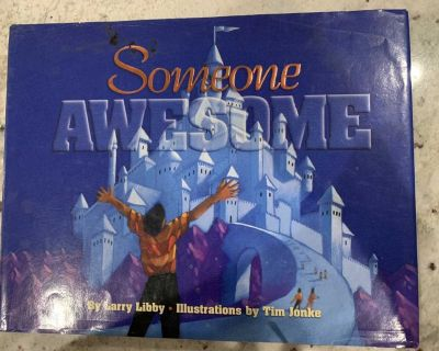 SOMEONE AWESOME HARDCOVER BOOK WITH DUST JACKET CP