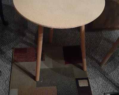 3 Leg Wood Round Table 2 Available