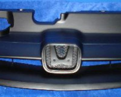 Grille W Support 01-03 Civic Coupe W Waranty Fast Ship