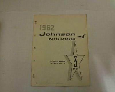 1962 Johnson Parts Catalog 3 Hp Motors @@@check This Out@@@