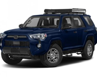 New 2021 Toyota 4Runner Venture With Navigation & 4WD