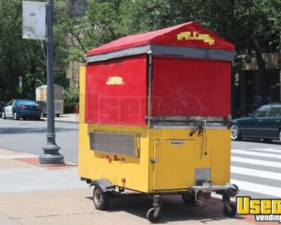 Turnkey 2008 - 4' x 8' Compact Street Food Concession Trailer