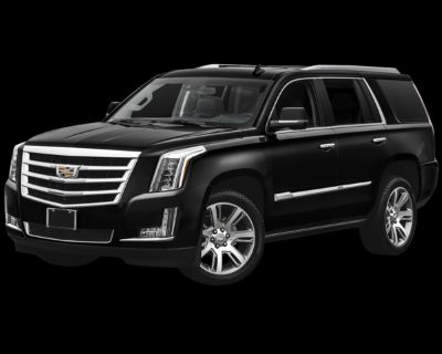 Pre-Owned 2017 Cadillac Escalade Premium With Navigation & 4WD