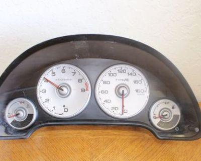 02-06 Honda Acura Integra Type-r Rsx Dc5 Gauge Cluster Speedometer Jdm K20ar