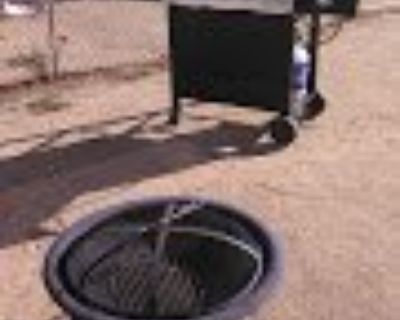 Fire pit/bbq grill/garden tools
