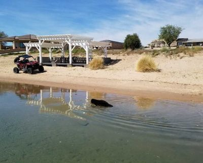 river house with all the beach you can sand.boat ramp 2 docks 400 sq ft pergola - Needles