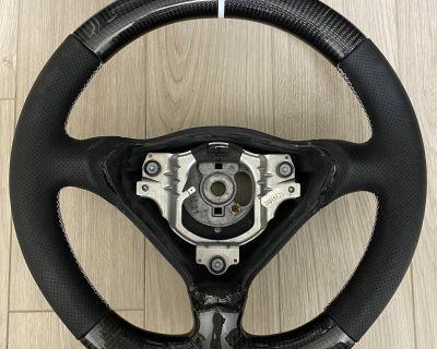 996/993 Thicker Flat Bottom Carbon Fiber Steering Wheel