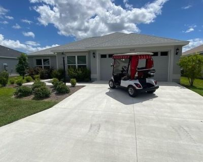 NEW Area OF THE Villages Golf Cart King BED Nice AND Comfy Home Book NOW - The Villages