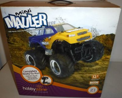 NOS - Hobby Zone Mini Mauler Z1 R/C Monster Truck 1:20 scale Remote Control Vehicle