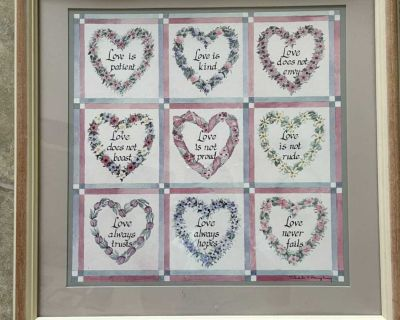 Picture frame for wedding gift