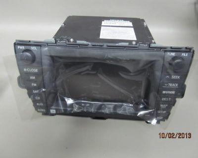 2009 Toyota Prius Navigation Display Unit Radio Gps Jbl 86120-47390 E 7022