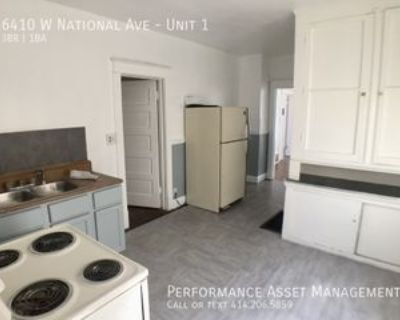 6410 W National Ave #1, West Allis, WI 53214 3 Bedroom Apartment