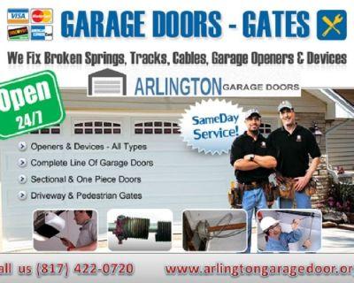 24 Hour | Emergency New Garage Door Installation 76006, TX
