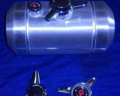 Fuelies Spun Aluminum Custom Gas Tanks 8x12 Or 8x16