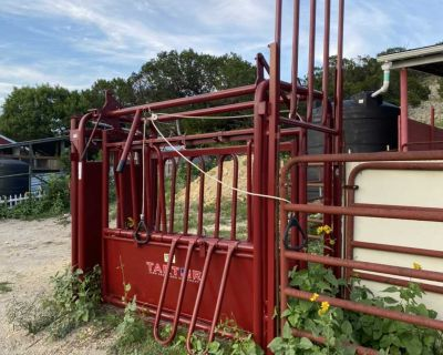 Headgate and squeeze chute