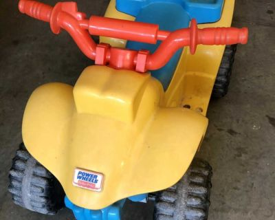 Fisher price battery powered quad