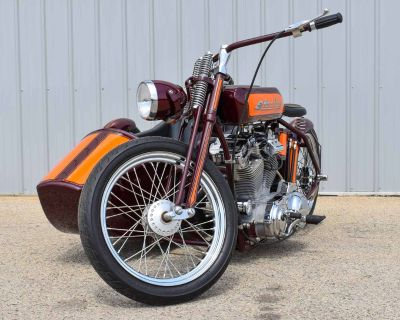 1921 Arlen Ness Motorcycle with Sidecar