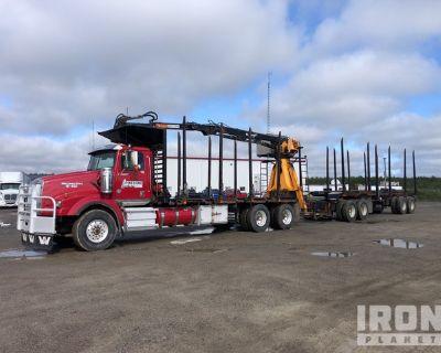 2016 Western Star 4900SA T/A Logging Truck w/2018 Timmins Dolly & Trailer