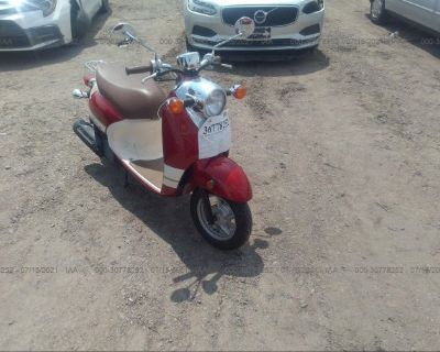 Salvage Red 2015 Yamaha Xc50