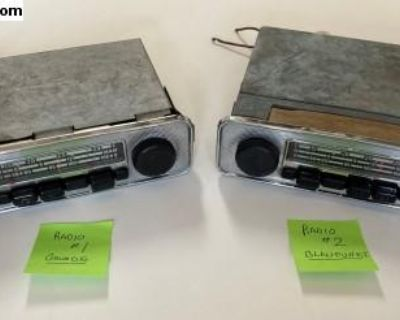 Radio Blaupunkt and Grundig