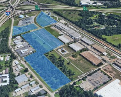Industrial or Flex Land Sites For Sale or Build-to-Suit