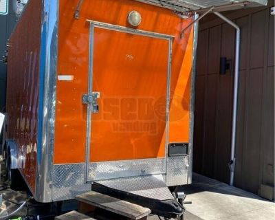 2017 Cargo Mate 8' x 16' Food Concession Trailer / Commercial Mobile Kitchen